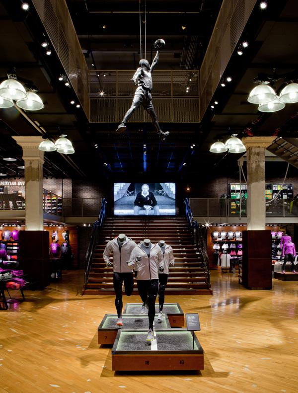 Visual Merchandising Nike