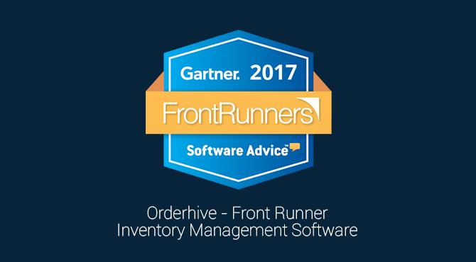 Orderhive front runner _gartner
