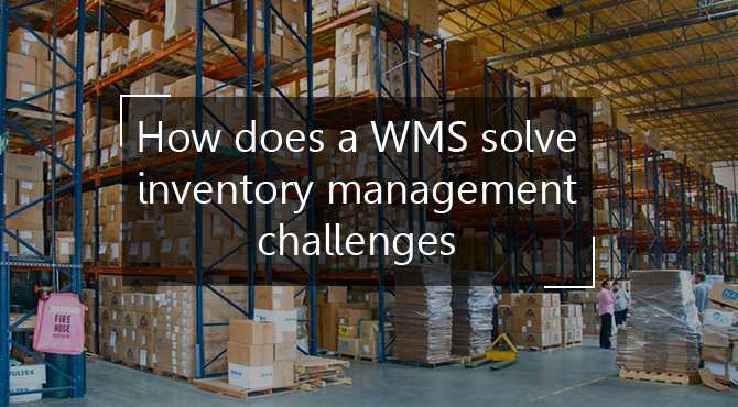 WMS solve inventory management challenges