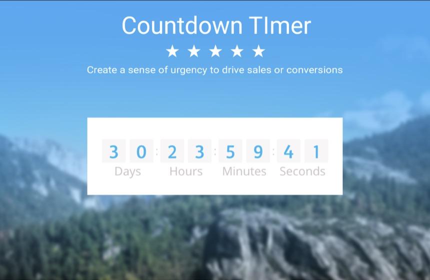 A Shopify timer plugin