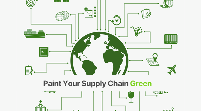 Paint your Supply Chain Green
