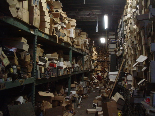 Disorganization in Warehouse