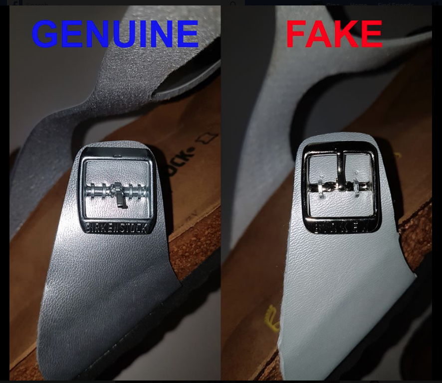 Genuine and Fake product 2