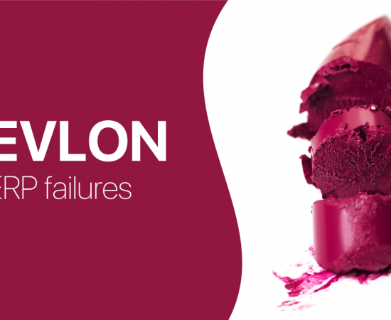 What went wrong with Revlon's ERP implementation and how can Perpetual Inventory System help out?