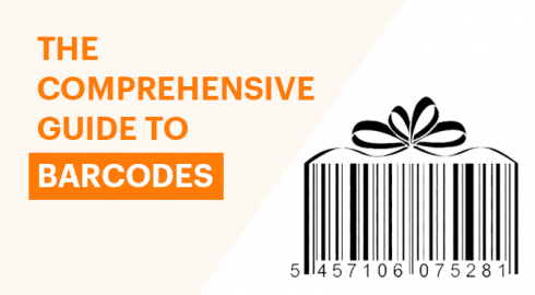 Barcode guide banner
