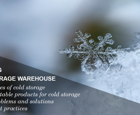 Best practices for managing a cold storage warehouse