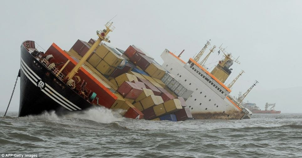 Types of Risks that Shipping Insurance Covers