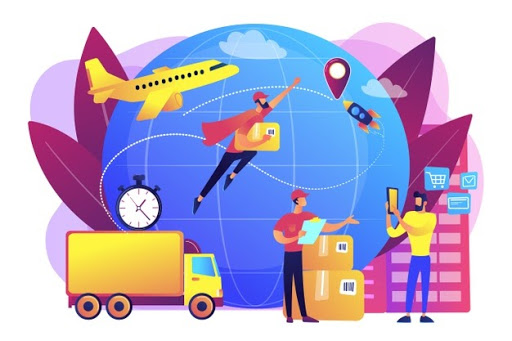 Difference between Shipping and Logistics Management