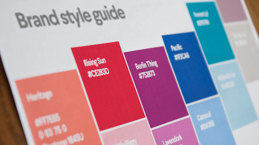 Creating a branding style guide