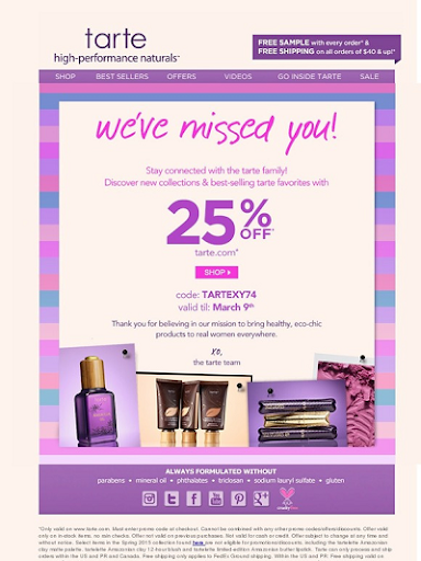 Discount Email