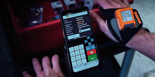Smartphones for Warehouse Management System
