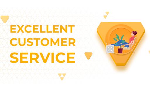 Upgraded customer service